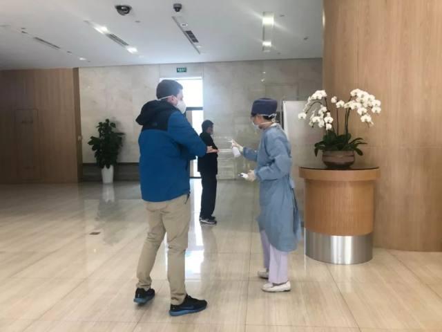 抗击新型肺炎疫情,上海禾新医院规范预检分诊