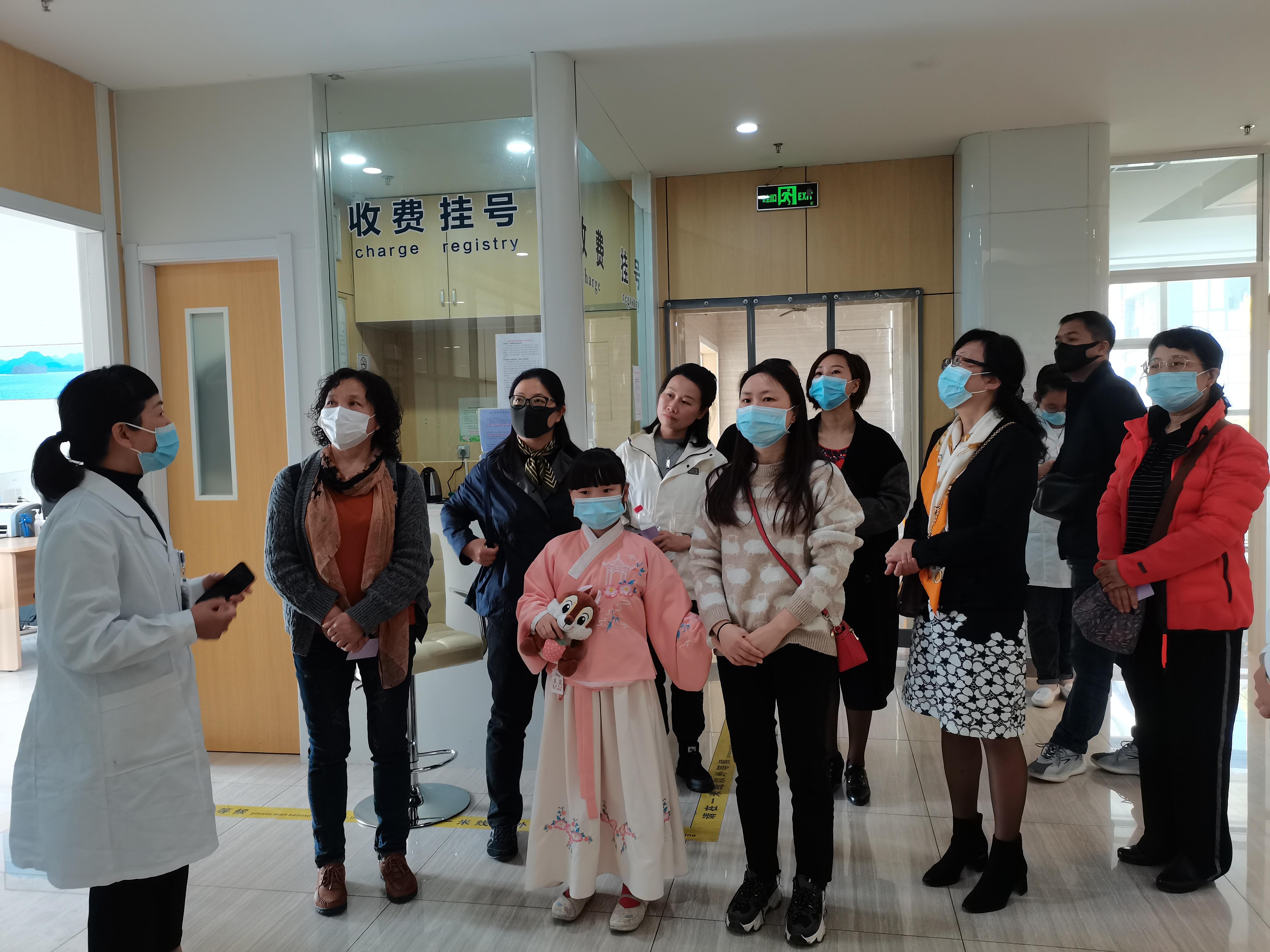 携手并进 让爱共赢 ——九三学社莅临国控医疗杭州中兴医院参观指导