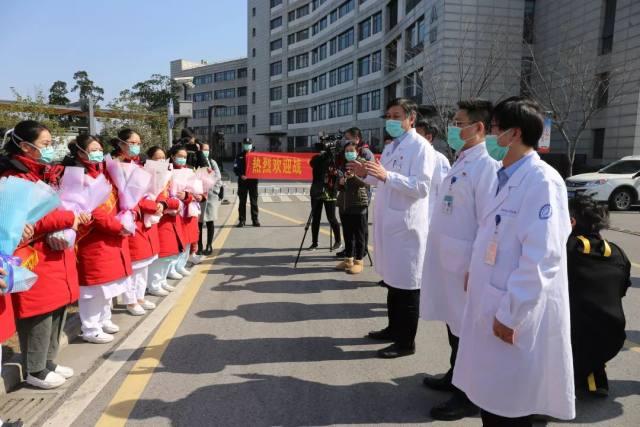 无锡市第五人民医院:欢迎第一梯队战「疫」勇士火线归来!