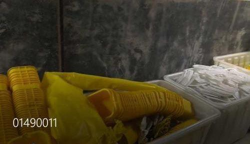 南京:3 千吨医疗垃圾被倒卖 部分生产成餐具玩具