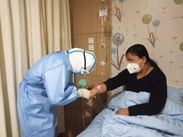 山东阳光融和医院:又一例新冠肺炎患者出院,将「献血救人」