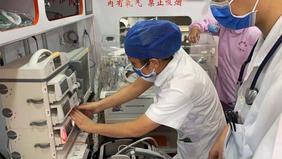 两小时的生命接力——江西省儿童医院安全转运危重症双胞胎患儿